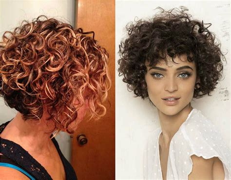 hairstyles short bob curly lovely short curly haircuts you will adore hairdrome com