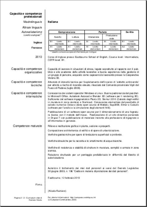 layout cv europeo alcuni template per il proprio cv con latex rainnic in