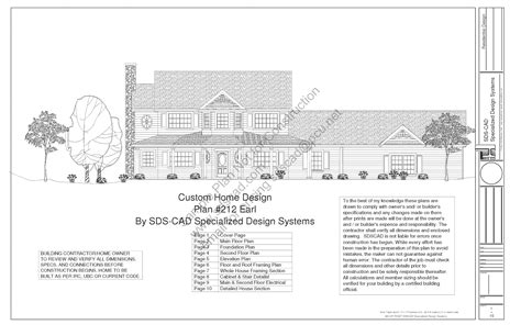 tropiano s new home blueprints page country house plan sds plans