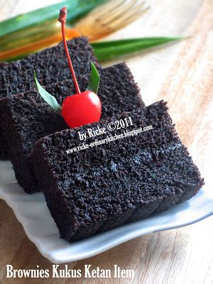 Brownies Ketan Item Bronketem just my ordinary kitchen bronketem brownies kukus ketan item
