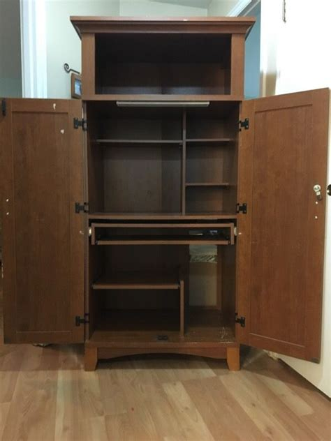 Mission Style Computer Armoire 28 Lastest Mission Style Computer Armoire Yvotube