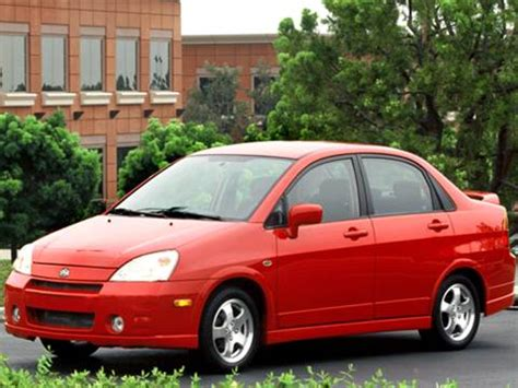 2004 suzuki aerio pricing ratings reviews kelley blue book