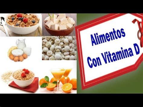 alimentos  vitamina   la mujer youtube