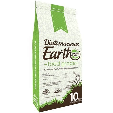 diatomaceous earth food grade 10 lb patio