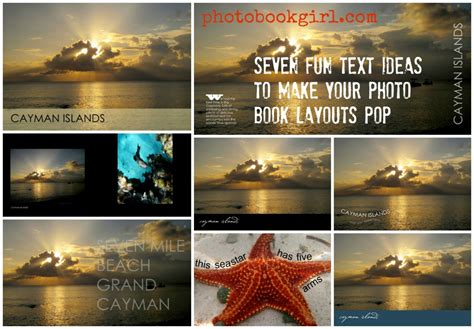 photo layout in photo book seven fun text ideas to make your photo book layouts pop