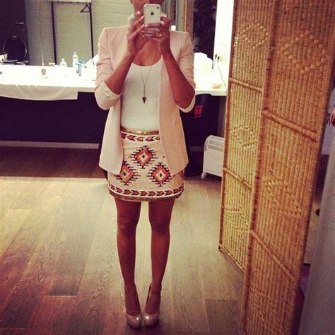 pattern brush español new zara 2012 aztec navajo sequin skirt size s small sold