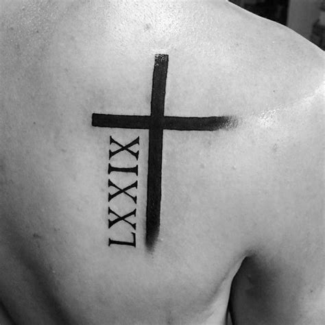 roman numeral tattoo designs for men 100 numeral tattoos for manly numerical ink ideas