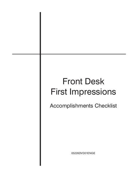 dental front desk checklist front desk checklist hostgarcia
