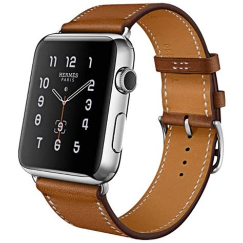 hoco series genuine real leather for apple 42mm series 1 2 3 brown