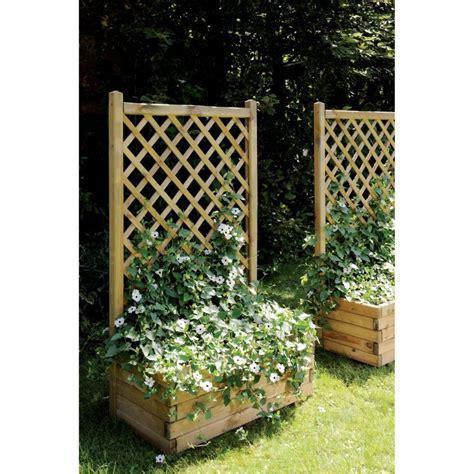 bac avec treillis bac 224 fleurs avec treillis bois trait 233 autoclave l80 h135