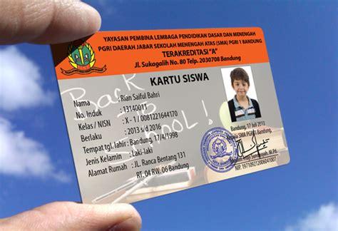 The Card Kartu Timbul raja id card pusat buat jual cetak bikin id card murah cetak kartu pelajar