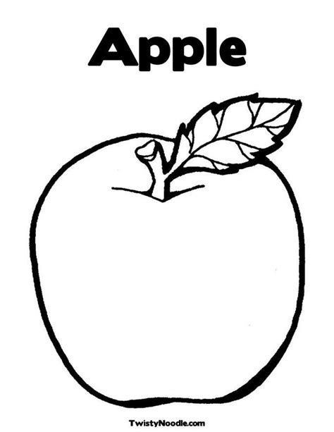 coloring pages apples free coloring page apple coloring home