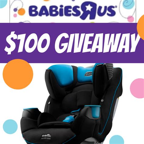 Babies R Us Giveaway - 100 babies r us gift card giveaway winner