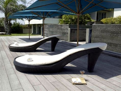 modern outdoor furniture for beautiful yard all