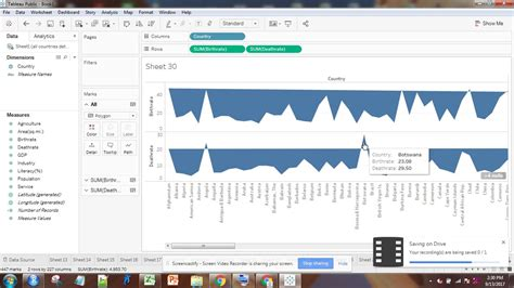 tableau tutorial on youtube tableau tutorial how to create polygon graph in tableau