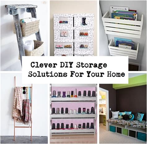diy solutions clever diy storage solutions for your home neatologie