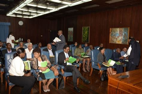 Guyana Cabinet by President Defends Size Of Cabinet And Renaming Of
