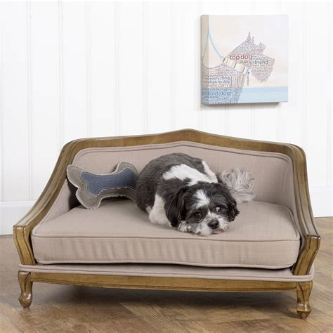 wood dog bed homepop decorative pet bed arched wood frame homepop