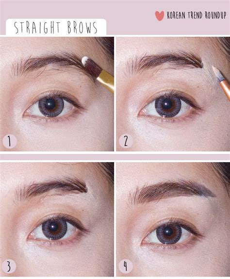 akun instagram tutorial make up ala korea 7 korean makeup trends you need to try now eyebrows