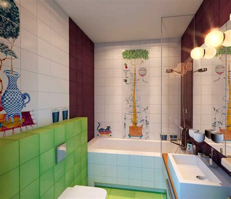 children s bathroom tiles 20 colorful kids bathrooms allarchitecturedesigns