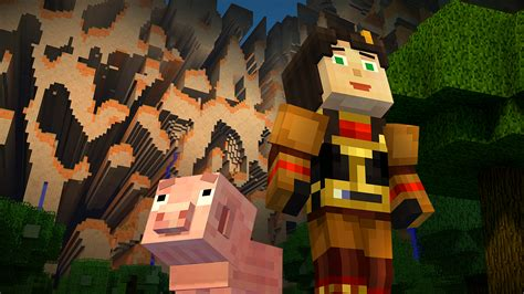 minecraft story mode minecraft story mode episode 4 lands next week vg247