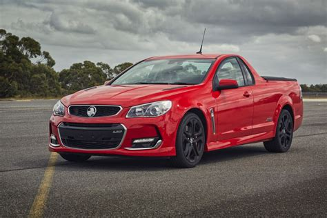 holden car truck holden commodore driven holden powers up with vf series