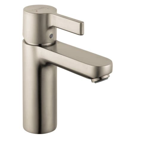 Metris S Single Faucet by Hansgrohe 31060821 Metris S Single Faucet Brushed Nickel