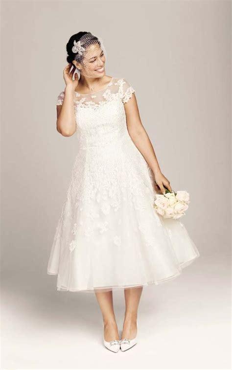 Plus size wedding dresses short   PlusLook.eu Collection