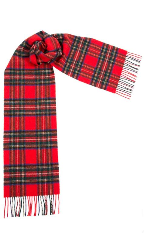 luxury soft wool tartan scarf by scotweb