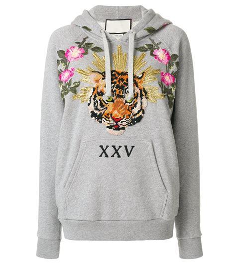 hoodie embroidery design indie designs tiger and floral embroidered hoodie indie