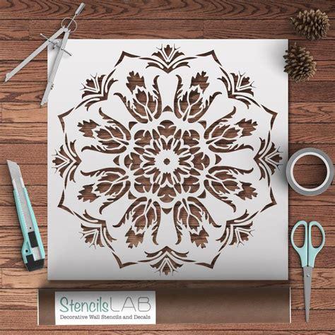 custom stencil templates 1000 id 233 es sur le th 232 me mandala stencils sur