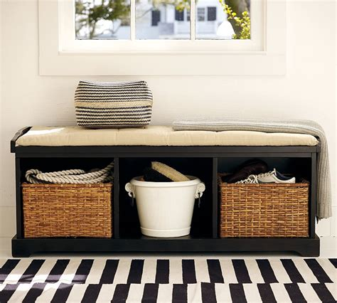black storage bench with baskets 50 awesome storage bench design for your home top home designs