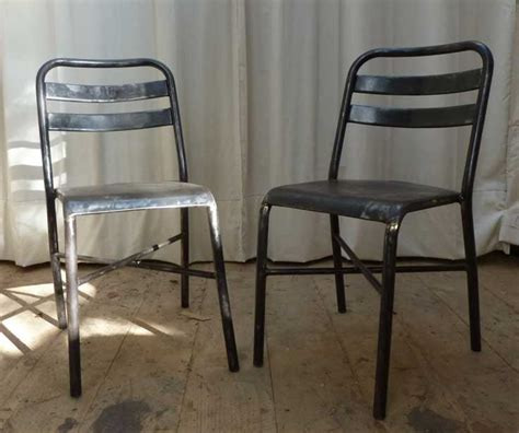 chaises metal chaise m 233 tal 171 guinguette 187 madebymed fauteuil