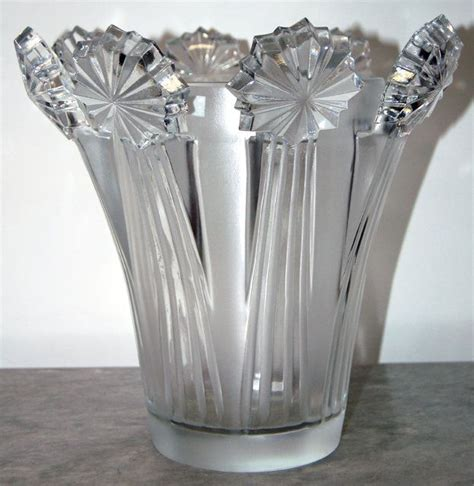 vases home decor beautiful 1950s lalique vase