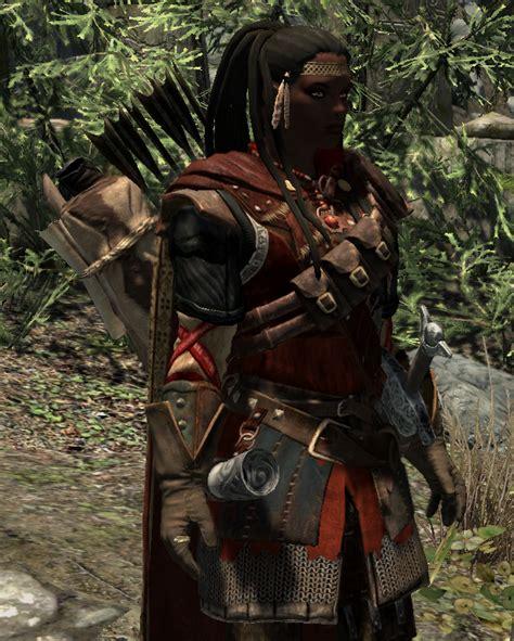 crimson ranger armor skyrim mod mod chorrol com gt molly hatchet chops skyrim down to size