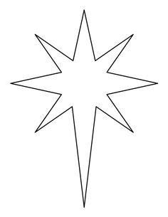 printable bethlehem star pattern use the pattern for six pointed star pattern use the printable outline for