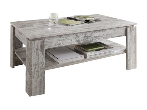 Table Basse Shabby by Table Basse M 233 Lamin 233 Style Shabby Chic R 233 Tro Pin