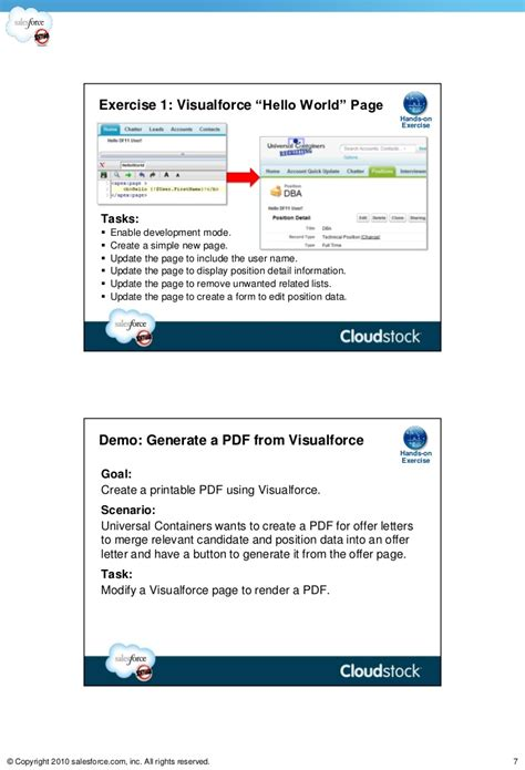 visualforce layout exles hot intro to visualforce pages