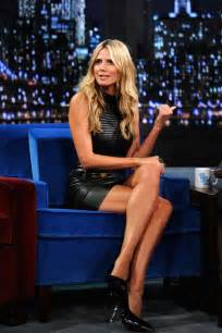 heidi klum and her lbd and gorgeous legs lbds