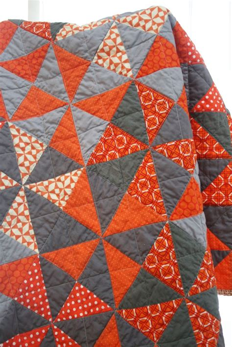 pattern orange grey lap quilt quilting pinterest quilt colors and gray