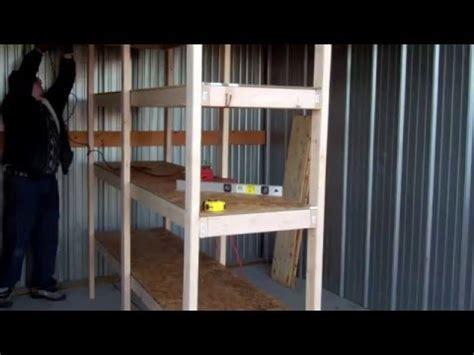 build   wooden garage storage shelves lifehacker