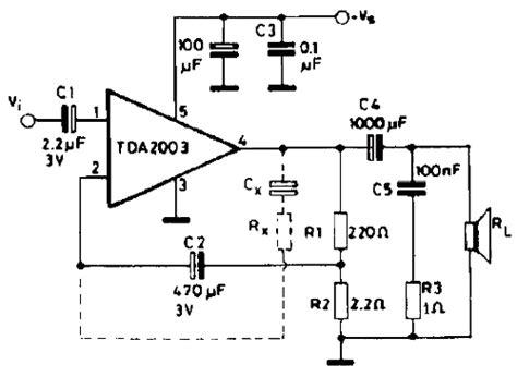 Ic Tda2003 Ic Tda 2003 Aj02 10w audio lifier with tda2003