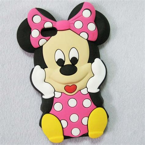 Iphone 5 5s 5g Se Minnie Mouse 3d Casing Soft Casing Bumper 3d minnie mouse silicone soft cover skin for iphone 5 5g ebay