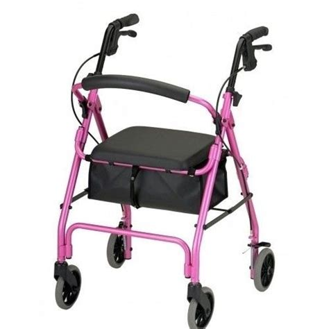 walkers for seniors with seat near me rollator walker chair pink senior assistive devices