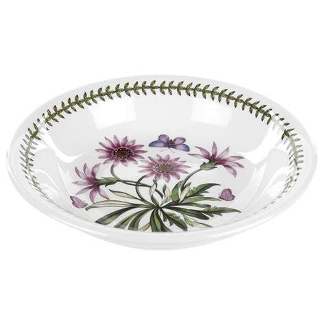 portmeirion botanic garden pasta bowls portmeirion botanic garden 8 inch pasta bowl treasure flower portmeirion uk