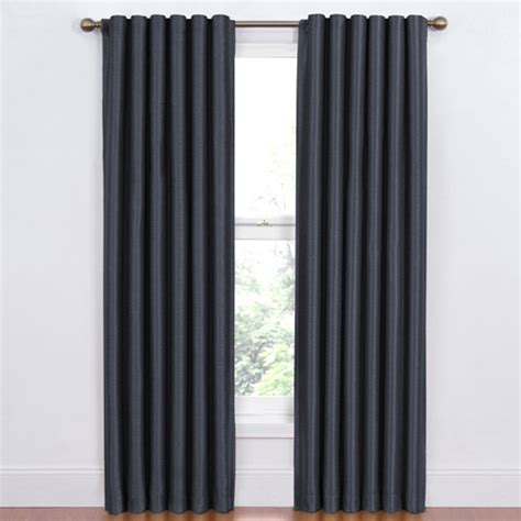 Window Blackout Curtains Eclipse Blackout Window Curtain Panels Walmart