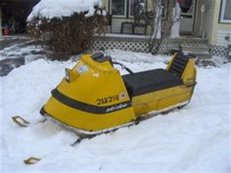 A 1969 Ski Doo Tnt Black Dot Very Rare I Have Only Seen