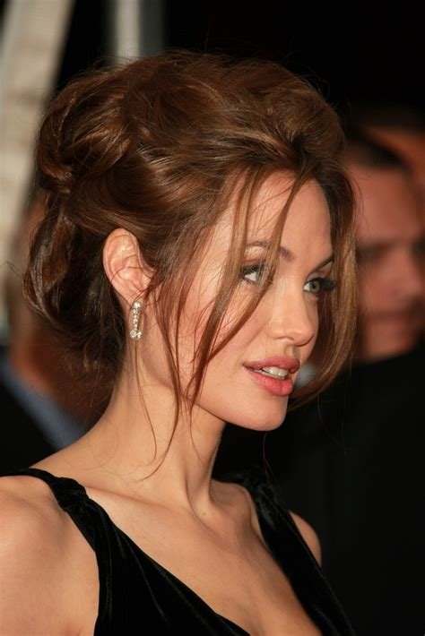 angelina jolie hairstyles 2016 pictures of angelina angelina jolie bobby pinned updo angelina jolie updos