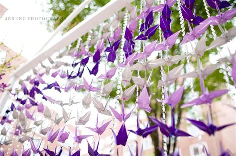 Wedding Origami Cranes - wedding origami paper cranes origami for your wedding