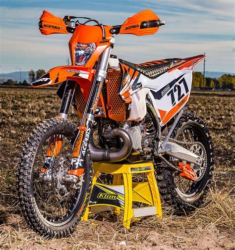 Ktm Xcw 300 Tuned 2017 Ktm 300 Xc W Build Dirt Bike Test
